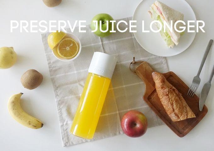 Freshness-Preserving Vacuum Bottles