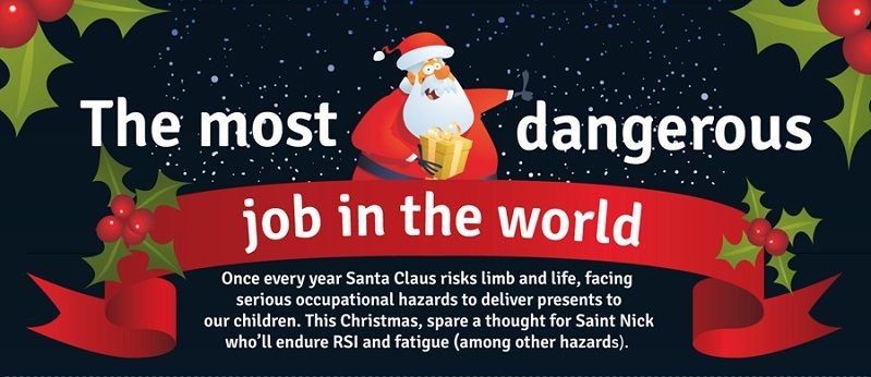 Dangerous Kris Kringle Jobs