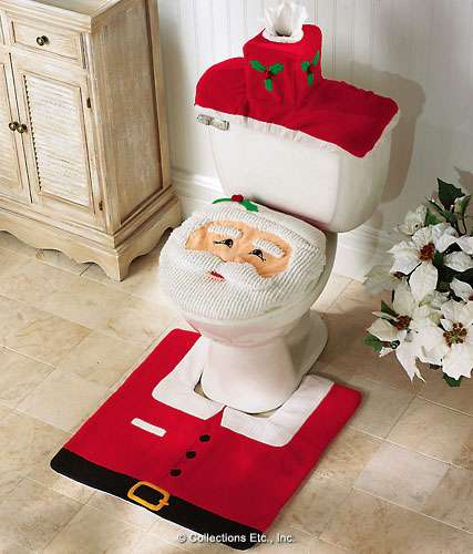Bathroom Xmas Decor Photo | Bathroom Xmas Decorations | Deco
