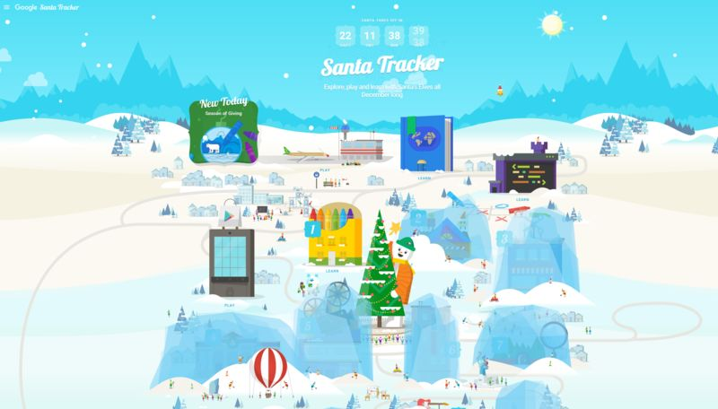Santa-Tracking Apps