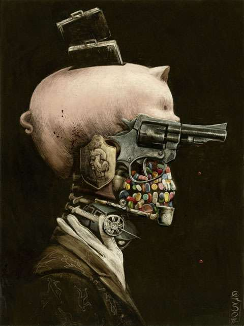 Surreal Steampunk Illustrations