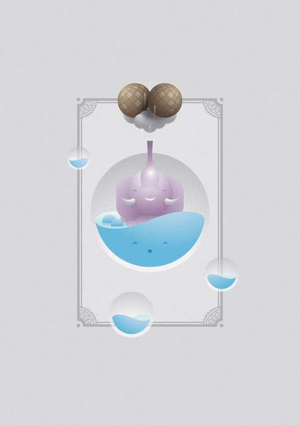Adorable Aquatic Artwork
