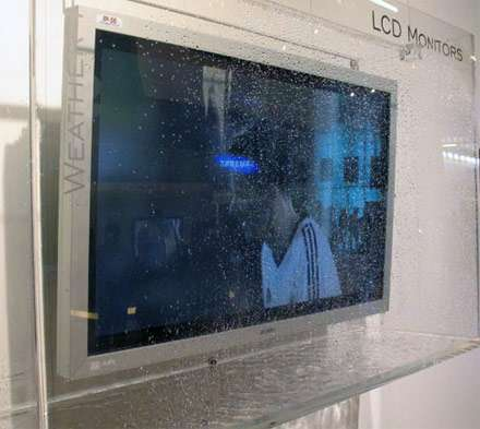 Sanyo's WaterProof HDTV