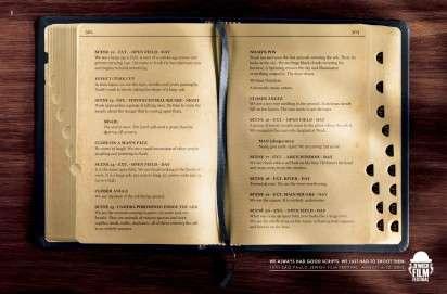 Biblical Script Ads