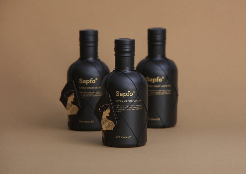 Individually Crafted Oil Bottles