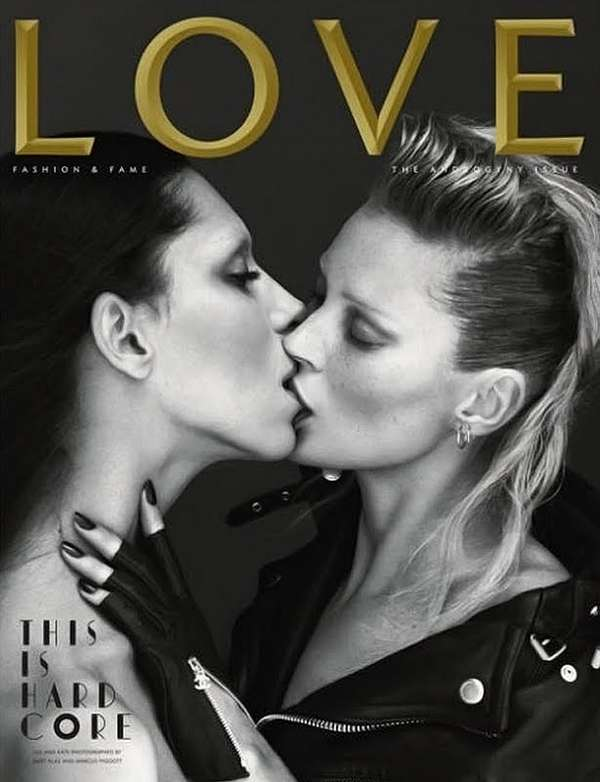 Kate Moss and Lea T LOVE Magazine Cover | PHOTO | Styleite