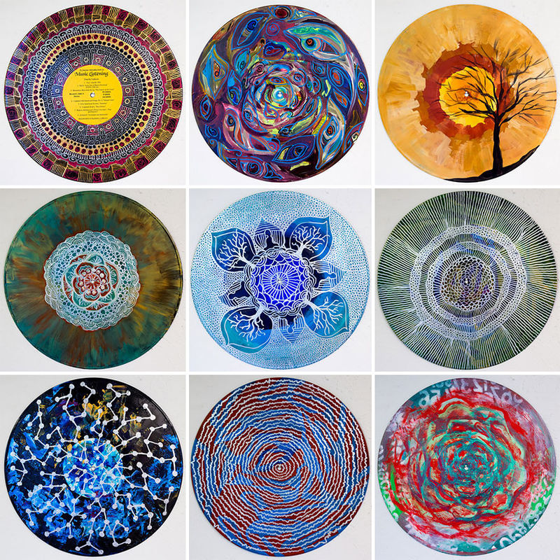 Spiritually Painted Records