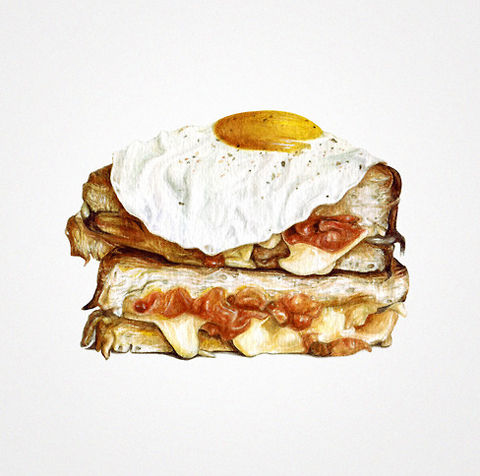 Indulgent Mealtime Illustrations