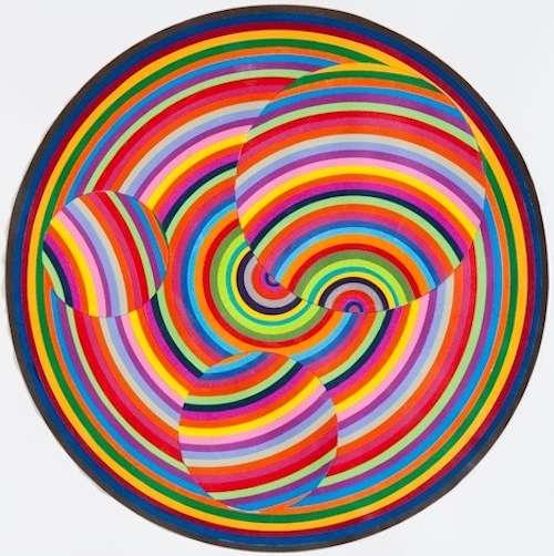 Colorblasted Geometric Art