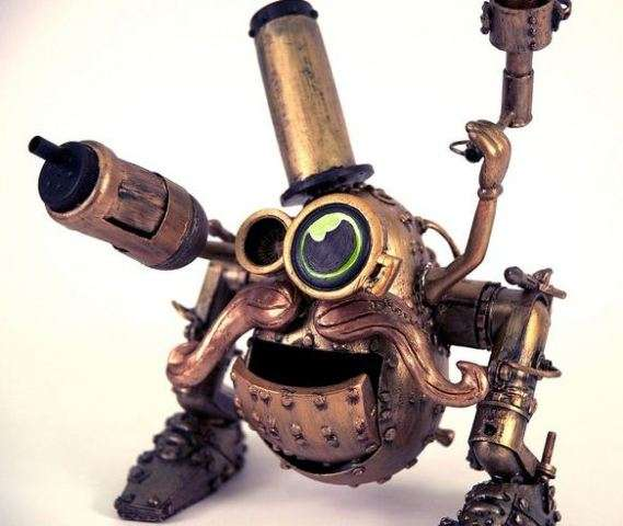 Steampunked Potato Toys