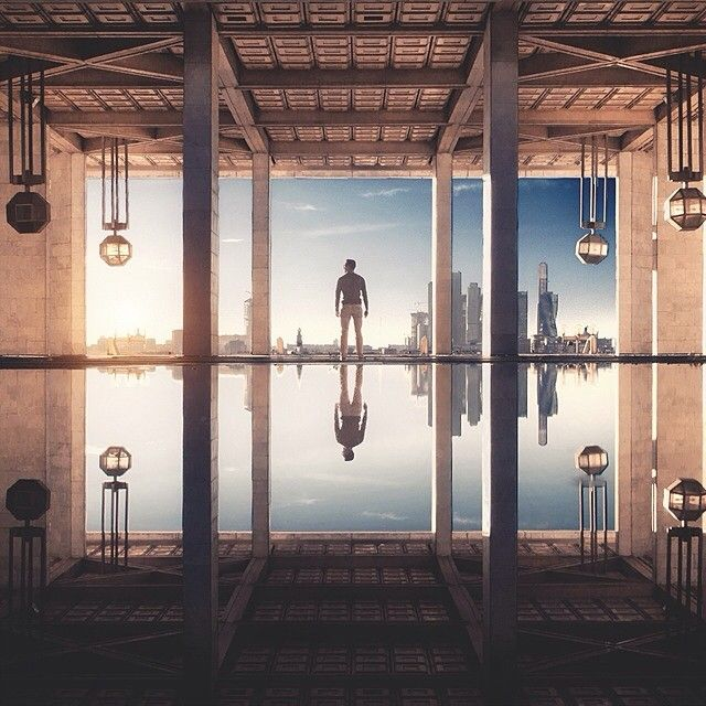 Symmetrical Architecture Photography