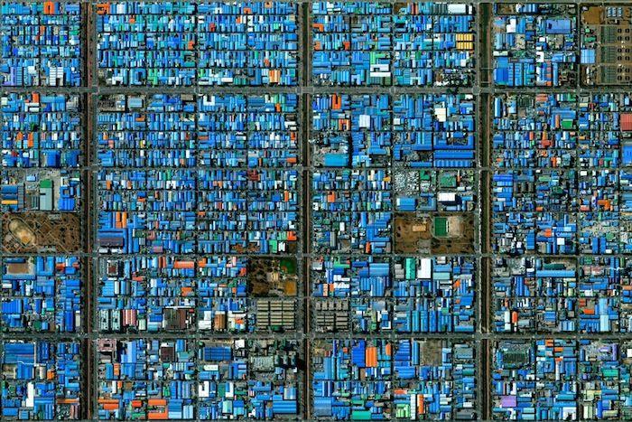 Artwork-Like Satellite Images