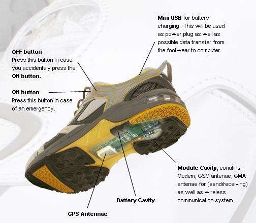 Satellite Monitoring in Your Footwear