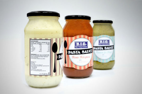 Kitchen Utensil Sauce Packaging