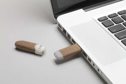 Cigar-Shaped USBs