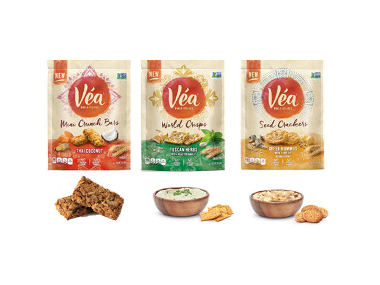 Globally Influenced Savory Snacks