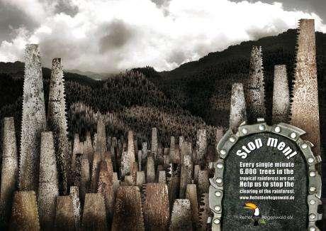 Eco-Friendly Sawvertising