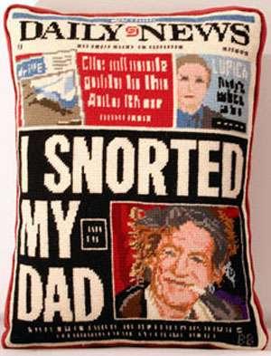 Scandalous Tabloid Embroidery