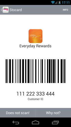 Scannable Rewards Card Apps