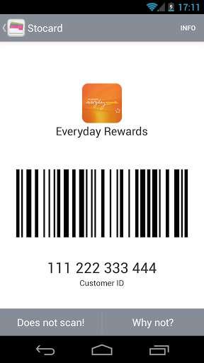 Scannable Rewards Card Apps