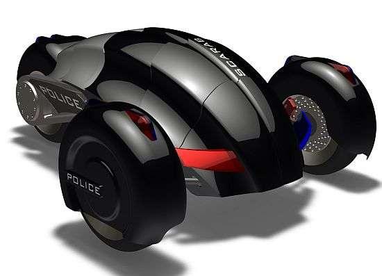 Driverless Cop Cars