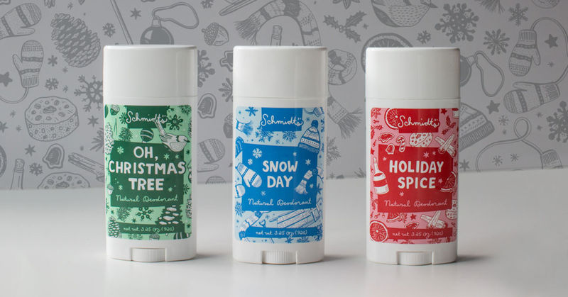 trendhunter.com - By: Laura McQuarrie - Seasonally Scented Deodorants : scented deodorants