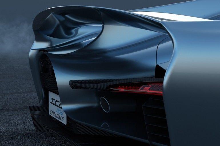 Futuristic Italian Supercars