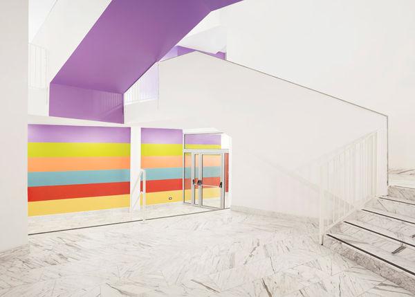 Cheerfully Color-blocked Schools