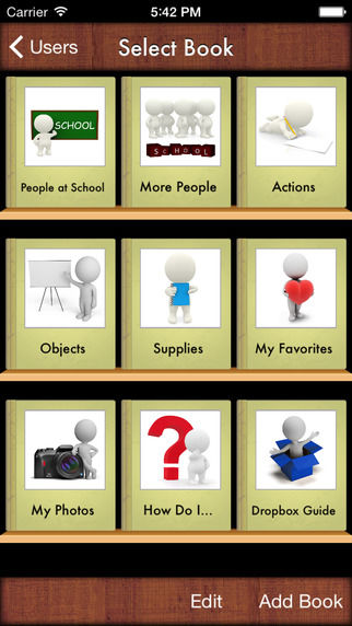Visual School Vocabulary Apps