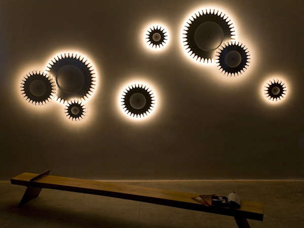 Latest Wall Lamp Design : Gear-Shaped Lamps : Schproket Light