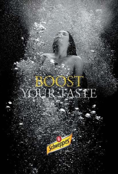Bubbly Underwater Ads