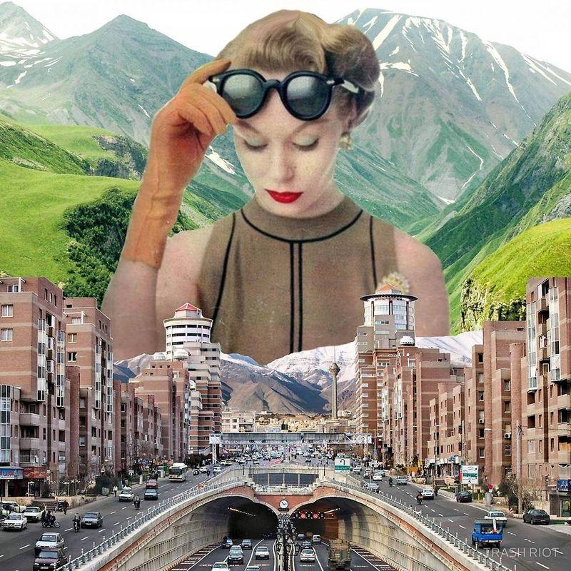 Surreal Pop Culture Collages