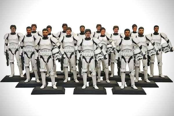 Customized Sci-Fi Action Figures