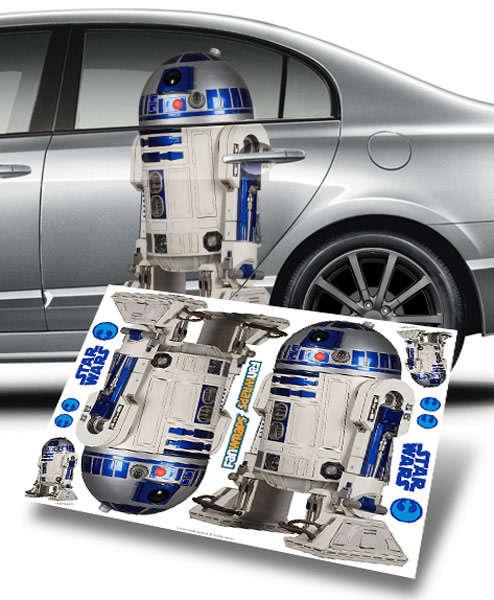 Bold Sci-Fi Car Decals
