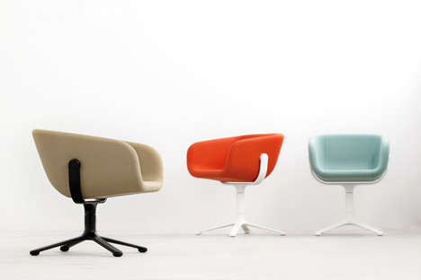 Vibrant Scandinavian Seating