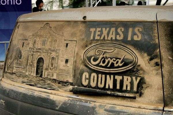 Dirty Car Art Campaigns