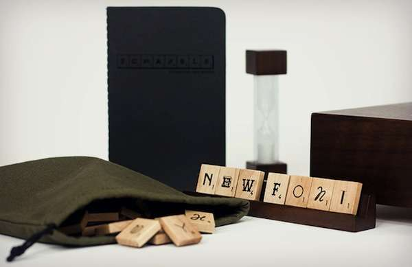 Scrabble Typography