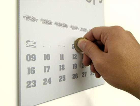 Scratch-Off Calendars