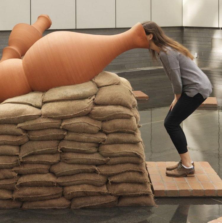 Scream-Swallowing Sculptures
