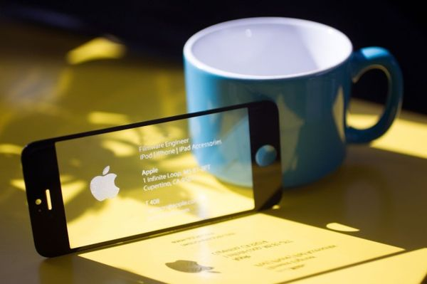 Smartphone Screen Business Cards