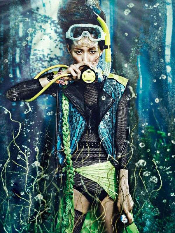Artistically Aquatic Editorials