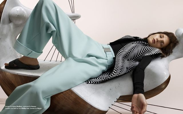 Literally Lounging Editorials