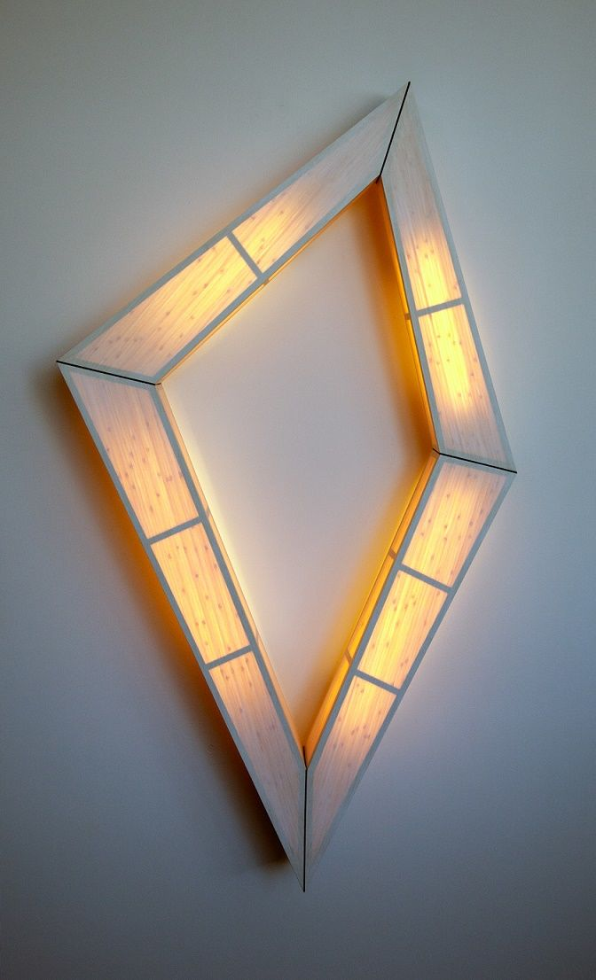 Diamond-Shaped Wall Lamps