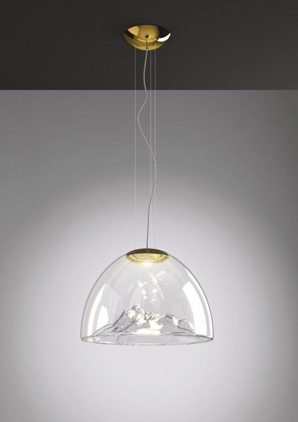 Sculptural Landscape Lamps