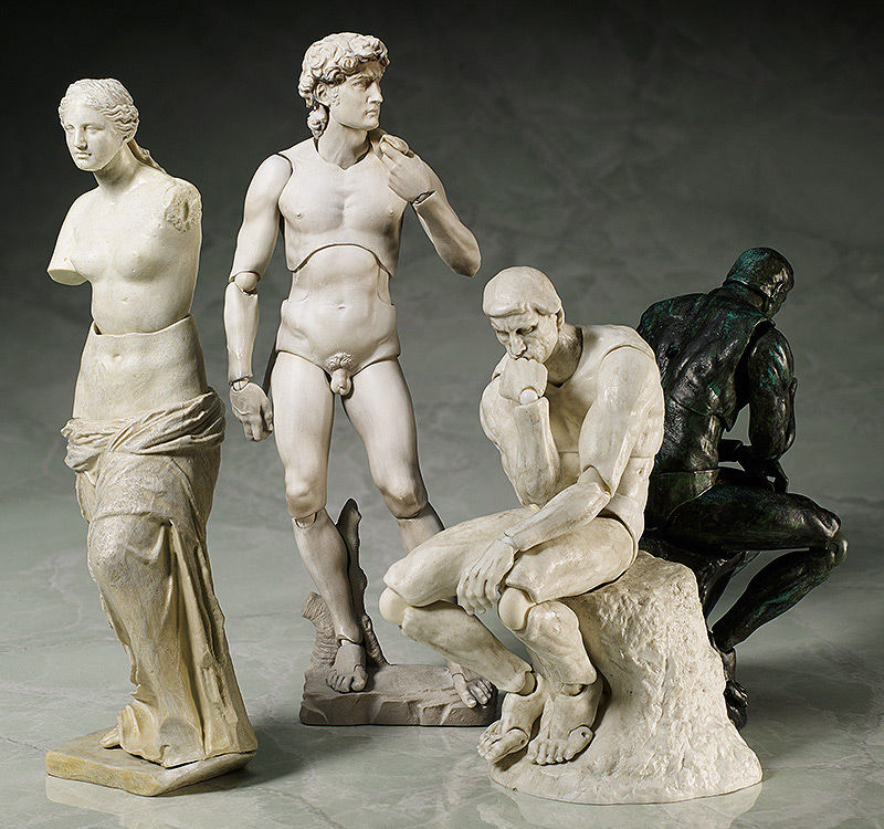 Art History Action Figures