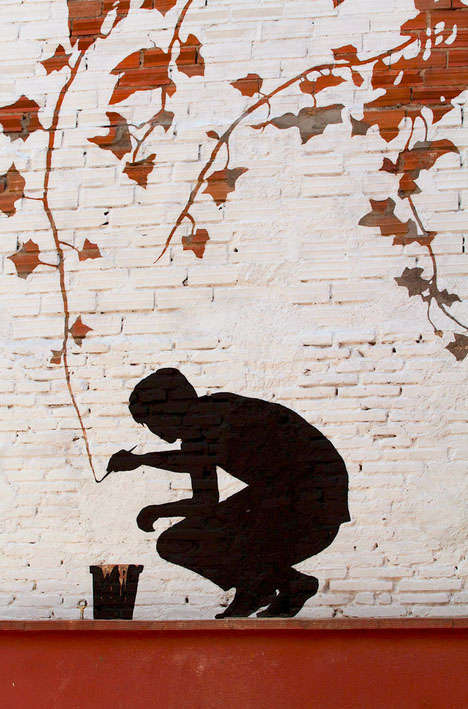 Negative Space Street Art