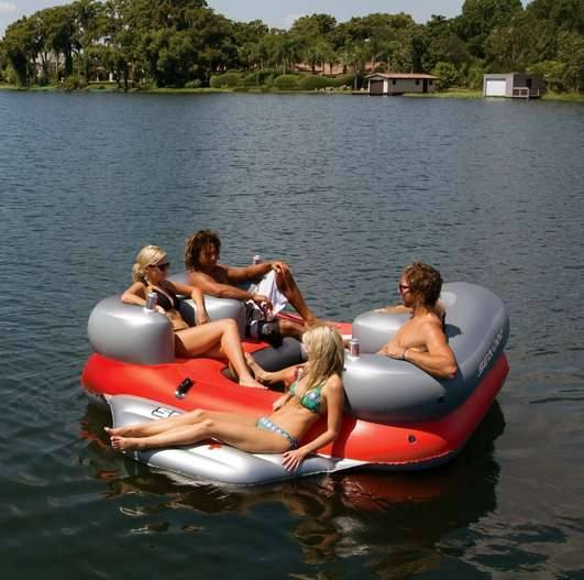Inflatable Aquatic Entertainment Cushions