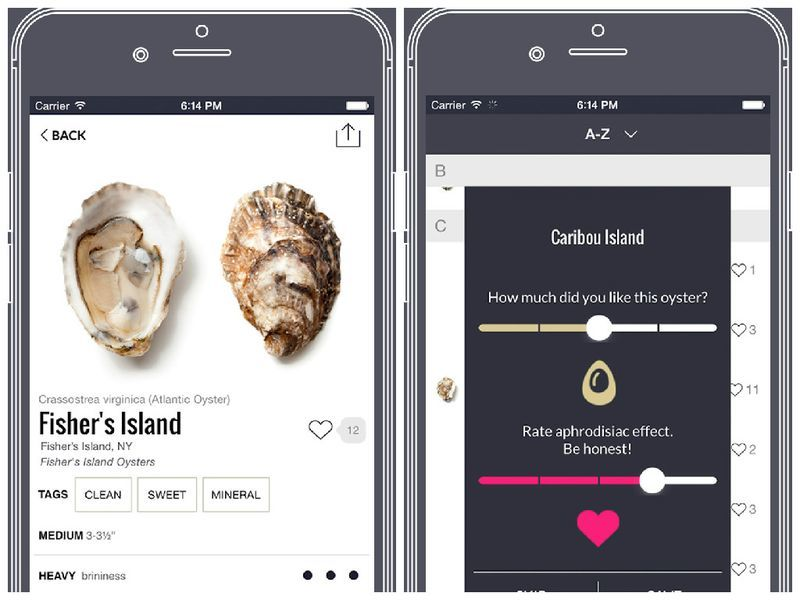 Oyster Bar-Locating Apps