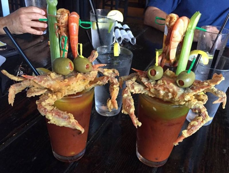 Fried Seafood Cocktails