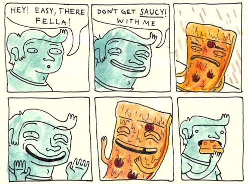Charmingly Cheeky Illustrations